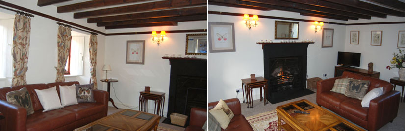 Cauldhame Stable Cottage lounge