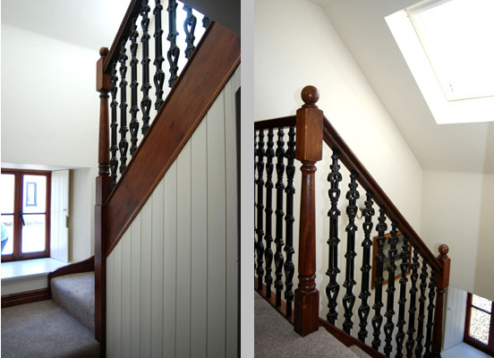 Cauldhame Stable Cottage stairs